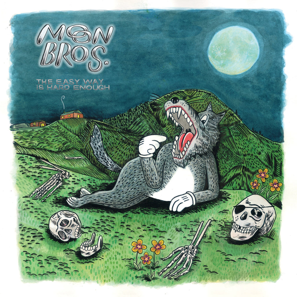 Moon Bros - The Easy Way Is Hard Enough (LP)