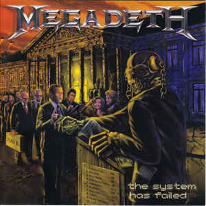 Megadeth - The System Has Failed (LP)