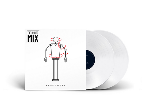 Kraftwerk - The Mix (2xLP, white vinyl)