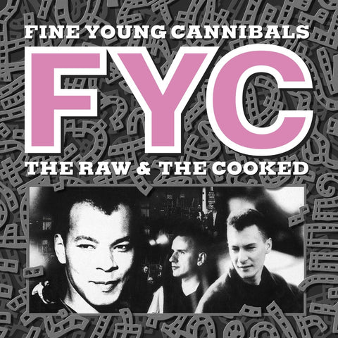 Fine Young Cannibals - The Raw & The Cooked (LP, anniversary edition, white vinyl)