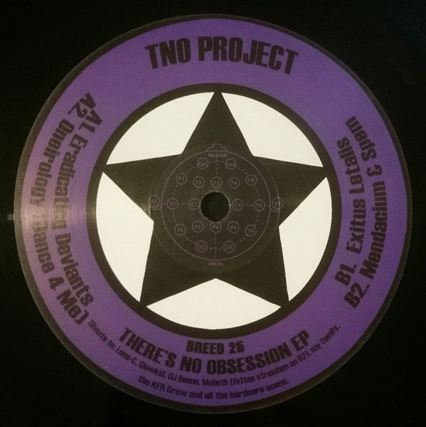 "TNO Project ‎– There's No Obsession EP (12"")"
