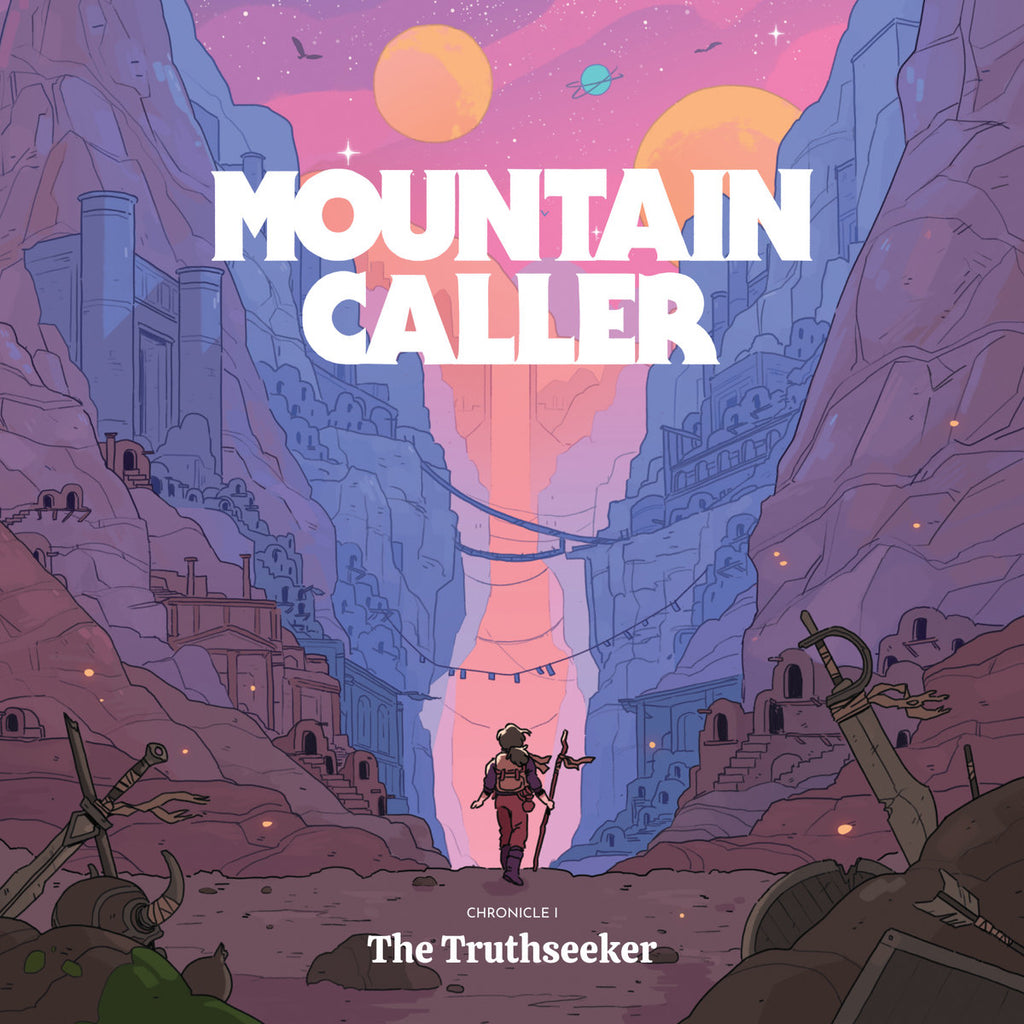Mountain Caller - Chronicle I: The Truthseeker (LP, red/purple galaxy swirl vinyl)