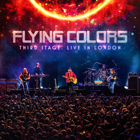 Flying Colors - Third Stage: Live In London (3xLP, orange vinyl)
