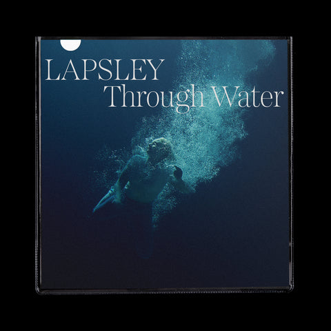 "Låpsley - Through Water (LP, clear vinyl + 7"")"