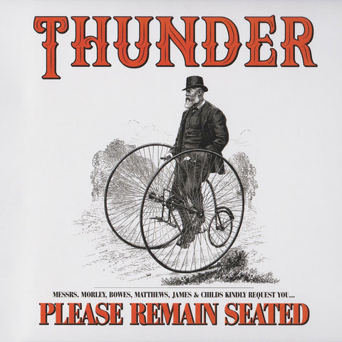 Thunder - Please Remain Seated (CD)