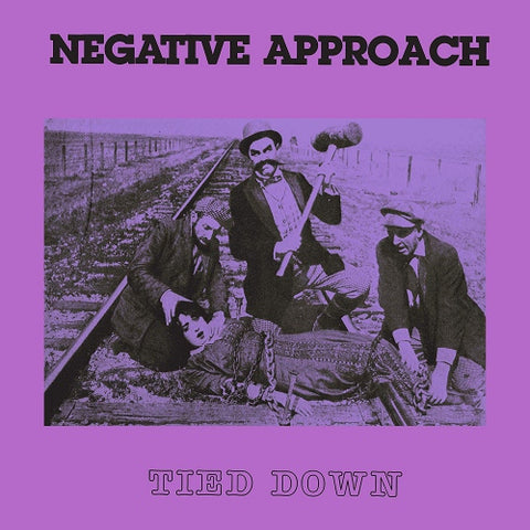 Negative Approach - Tied Down (LP, translucent purple vinyl)