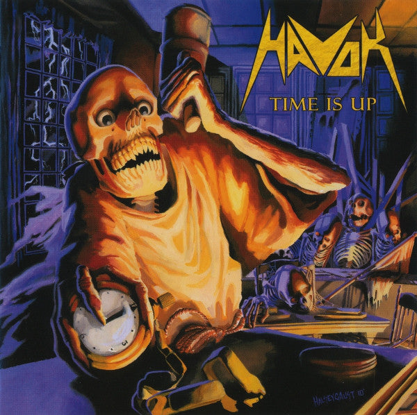 Havok - Time Is Up (LP, blue, white and yellow swirl vinyl)