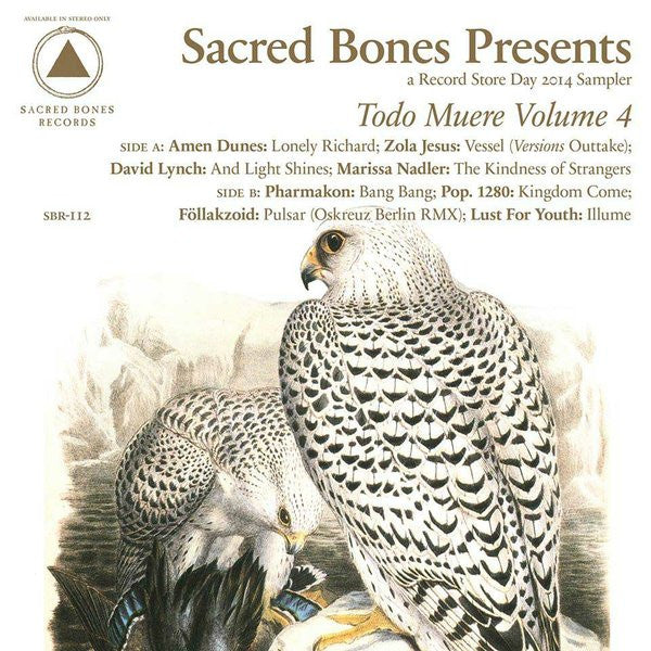 Various Artists ‎– Todo Muere Volume 4 LP (RSD 2014)