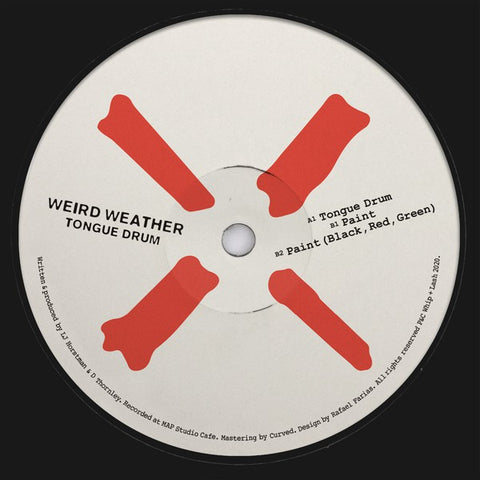 "Weird Weather - Tongue Drum (12"")"
