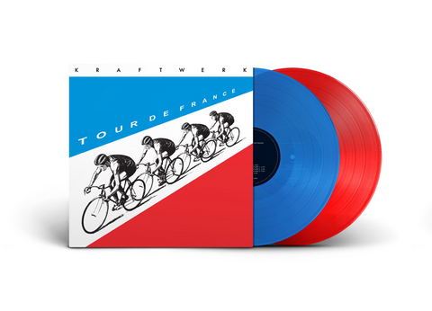 Kraftwerk - Tour De France (2xLP, red and blue vinyl)