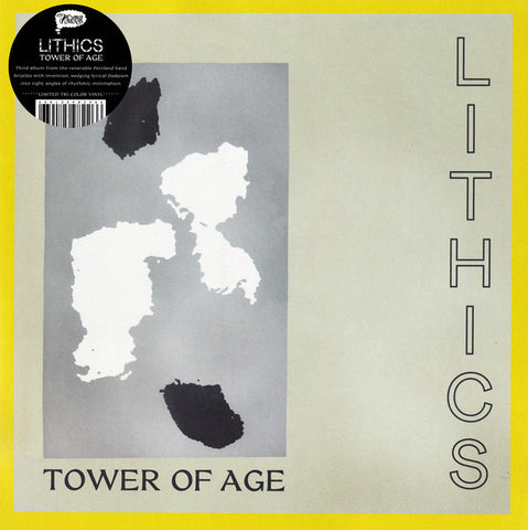LITHICS - Tower Of Age (LP, tri-colour vinyl)