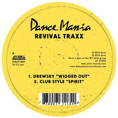 "Various Artists - Revival Traxx 12"" (RSD 2014)"