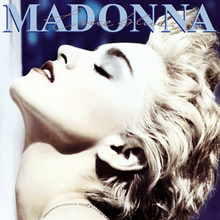 Madonna - True Blue (LP, clear vinyl)