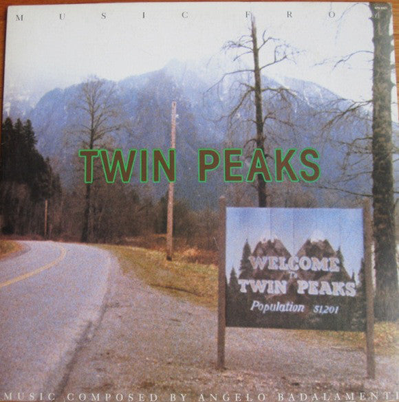 Angelo Badalamenti - Music From Twin Peaks OST LP