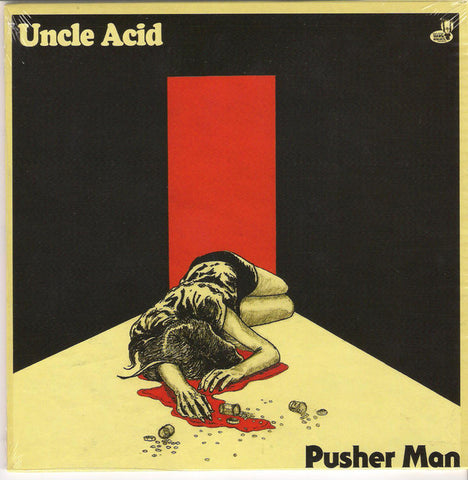 "Uncle Acid And The Deadbeats - Pusher Man (Blue 7"")"
