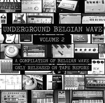 Various - Underground Belgian Wave Volume 2 (LP)
