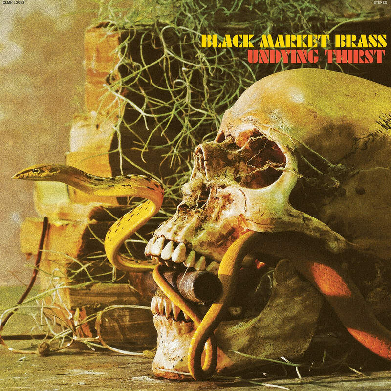 Black Market Brass - Undying Thirst (LP, gold vinyl)