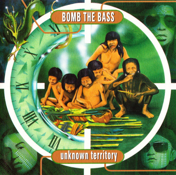 Bomb The Bass - Unknown Territory (LP, green and black swirled vinyl)