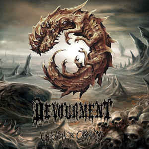 Devourment ‎- Unleash The Carnivore LP (grey and black smoke vinyl)