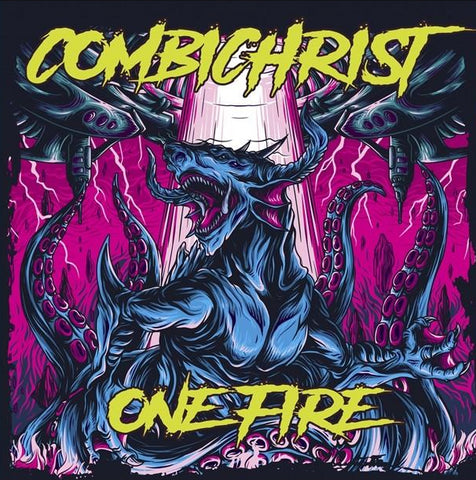 Combichrist - One Fire (2xLP, Alien Edition: Picture Disc + Pink Vinyl)