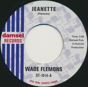 "Wade Flemons - Jeanette b/w Two Of A Kind (7"")"
