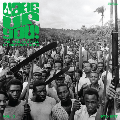 Various Artists - Wake Up You! The Rise And Fall of Nigerian Rock 1972-1977 Vol. 2