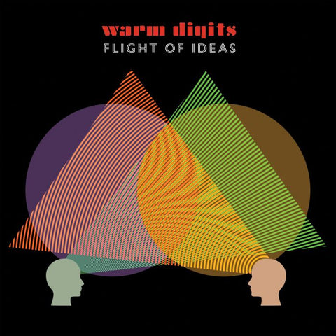PREORDER - Warm Digits - Flight of Ideas (LP, indies-only Orange vinyl)