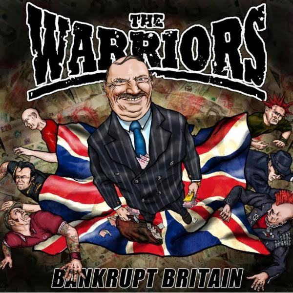 Halbstarke Jungs/The Warriors - Bankrupt Britain LP