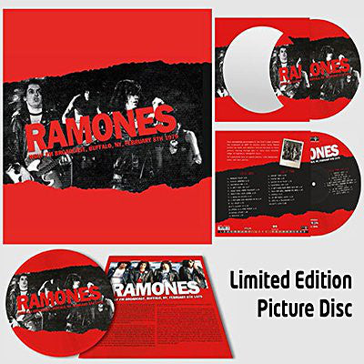 Ramones - WBUF FM Broadcast, Buffalo, NY, February 8th 1979 LP (picture disc)