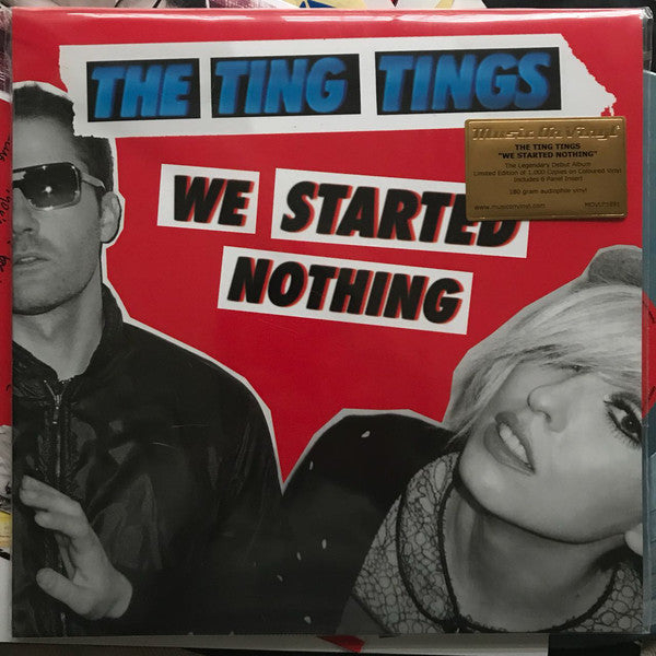 Ting Tings - We Started Nothing (LP, coloured vinyl)