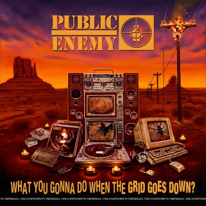 Public Enemy - What You Gonna Do When The Grid Goes Down? (LP, special edition inc poster)