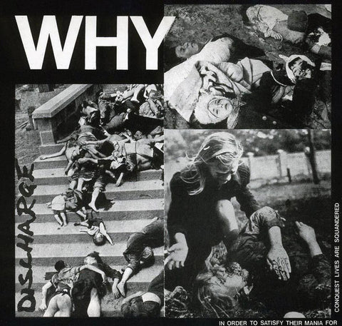 Discharge - Why (Clear Vinyl LP)