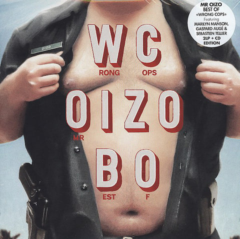 Mr Oizo - Wrong Cops / Best Of (2xLP + CD)
