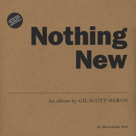 Gil Scott-Heron - Nothing New (LP + DVD)
