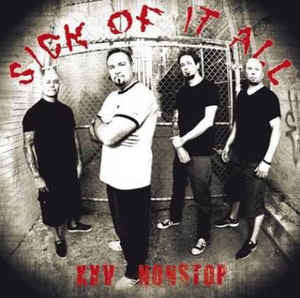 Sick Of It All - XXV Nonstop (LP,  red vinyl)