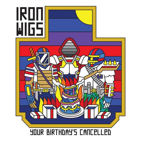 Iron Wigs - Your Birthday's Cancelled (LP, grimace and sunshine edition)