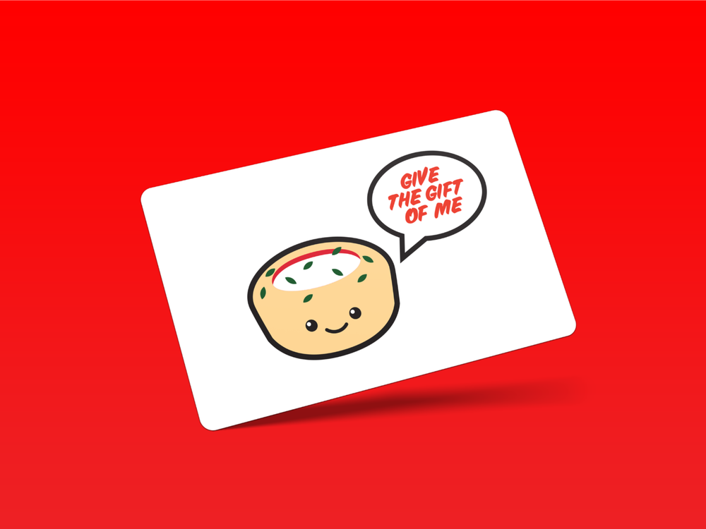 The Pizza Cupcake Gift Card