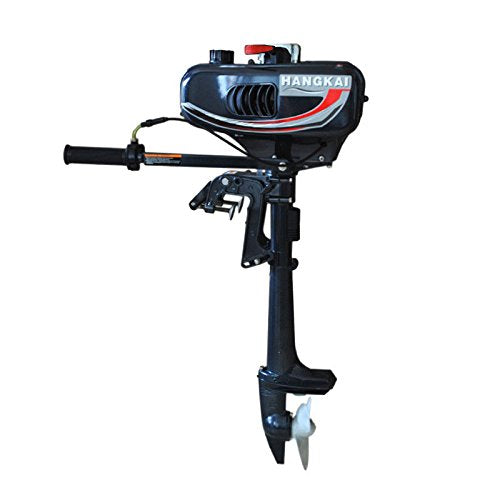 KANING Outboard Motor, 2 Stroke 3.5 Hp Marine Engine Air Cooling with CDI Ignition Inflatable Fishing Boat USA Stock - Expott.com