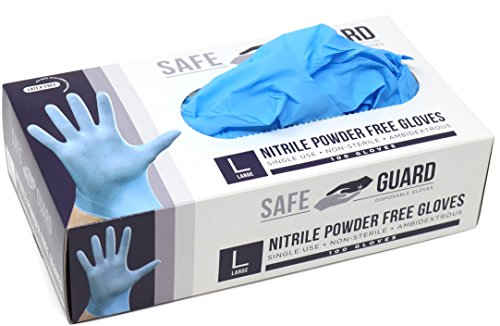 Safeguard Nitrile Disposable Gloves