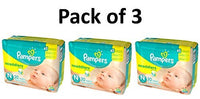 Pampers Swaddlers Diapers, Size Newborn, 20 Count Pack of 3 (Total of 60 Pampers) - Expott.com