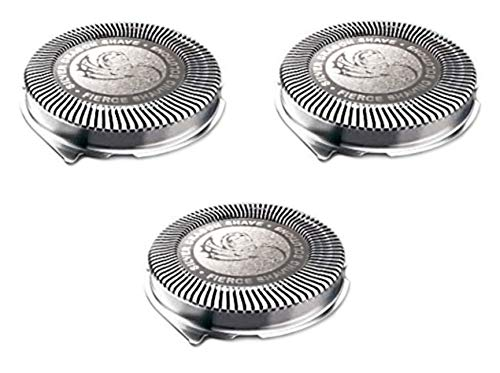 Silver Pro Shave HQ8 Replacement Heads Compatible w/Series 8 Electric Shavers (3) - Expott.com