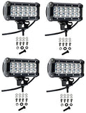 Cutequeen 4 X 36w 3600 Lumens Cree LED Spot Light for Off-road Rv Atv SUV Boat 4x4 Jeep Lamp Tractor Marine Off-road Lighting (pack of 4) - Expott.com