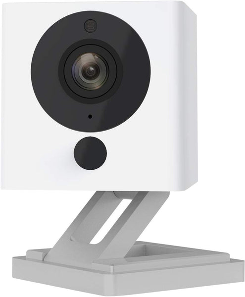 Wyze Cam 1080p HD Indoor Wireless Smart Home Camera with Night Vision, 2-Way Audio, Works with Alexa & the Google Assistant, One Pack, White - WYZEC2 - Expott.com