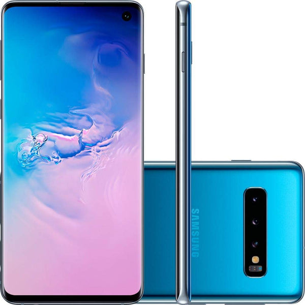 "Samsung Galaxy S10 128GB+8GB RAM SM-G973F/DS Dual Sim 6.1"" LTE Factory Unlocked Smartphone (International Model No Warranty) (Prism Green) - Expott.com"