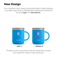 Home Hydro Flask 12 oz Travel Coffee Mug - Stainless Steel & Vacuum Insulated - Press-In Lid - Olive - Expott.com
