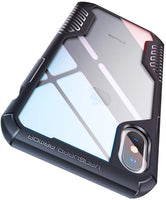MOBOSI Vanguard Armor Designed for iPhone X Case/iPhone Xs Case, Rugged Cell Phone Cases, Heavy Duty Military Grade Shockproof Drop Protection Cover for 10x/10xs 5.8 Inch 2017/2018 (Matte Black) - Expott.com