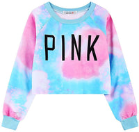 Ancia Girls Teens Womens Cute Sweetshirt Pullover Sweater Long Sleeve - Expott.com