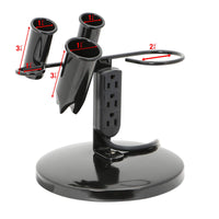 Saloniture Tabletop Blow Dryer & Hair Iron Holder - Salon Appliance Stand w/ 3 Outlets - Expott.com