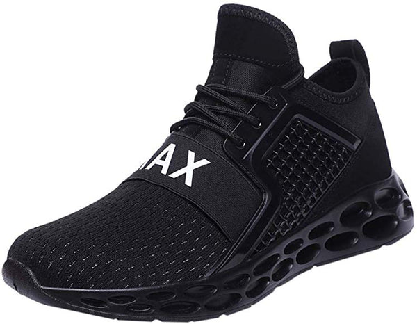 Men's Running Shoes Blade Non Slip Fashion Sneakers Breathable Mesh Soft Sole Casual Athletic Lightweight Walking Shoes - Expott.com