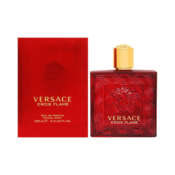 Versace Versace eros flame for men eau de parfume spray, 3.4 Ounce, Red - Expott.com